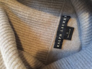 A $990 Ralph Lauren Black Label sweater. How much is it now? ...